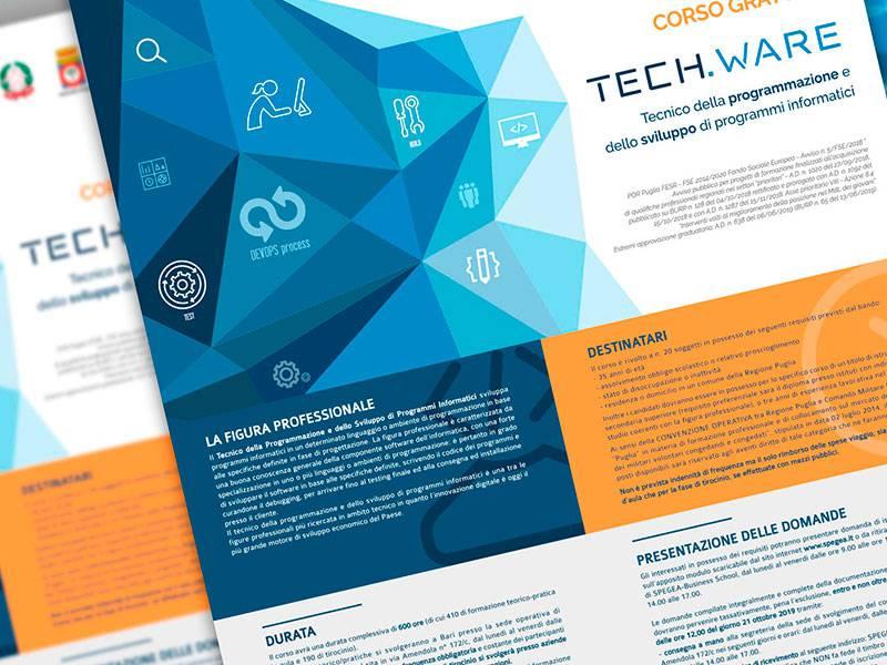 """Locandina Corso di Formazione """"Tech.Ware"""""""