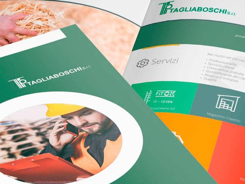 """Brochure aziendale """"TAGLIABOSCHI"""""""